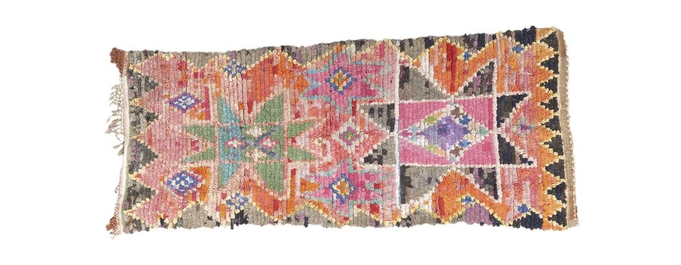 Francesca Gentilli's Bibya Boucherouite rug
