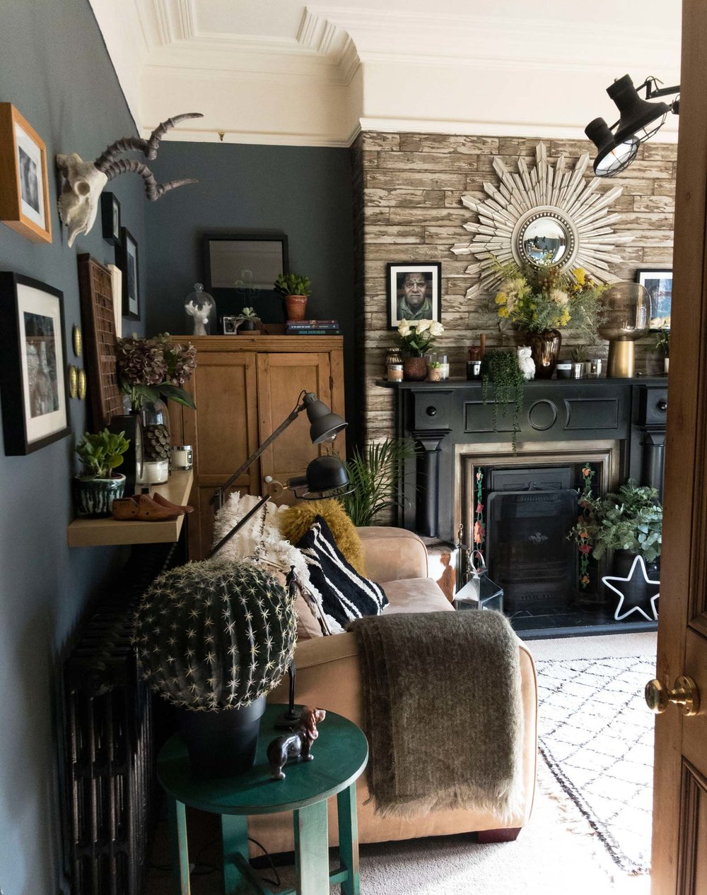 The Abigail Ahern-inspired sitting room the husband didn't plan, from the other side