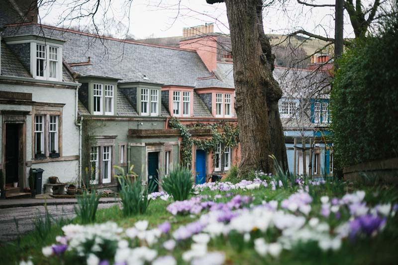 Where I used to live, in a picture perfect Edinburgh street/Photo: Andrea Thomson