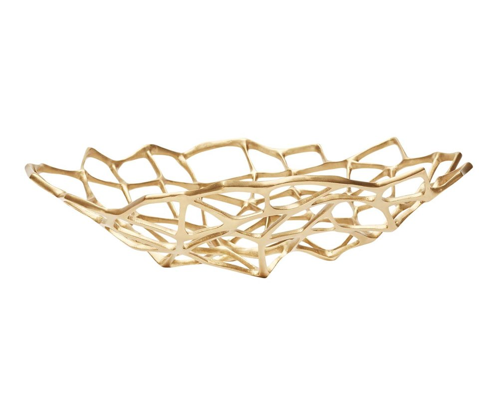 GOLD:  Tom Dixon Bone bowl