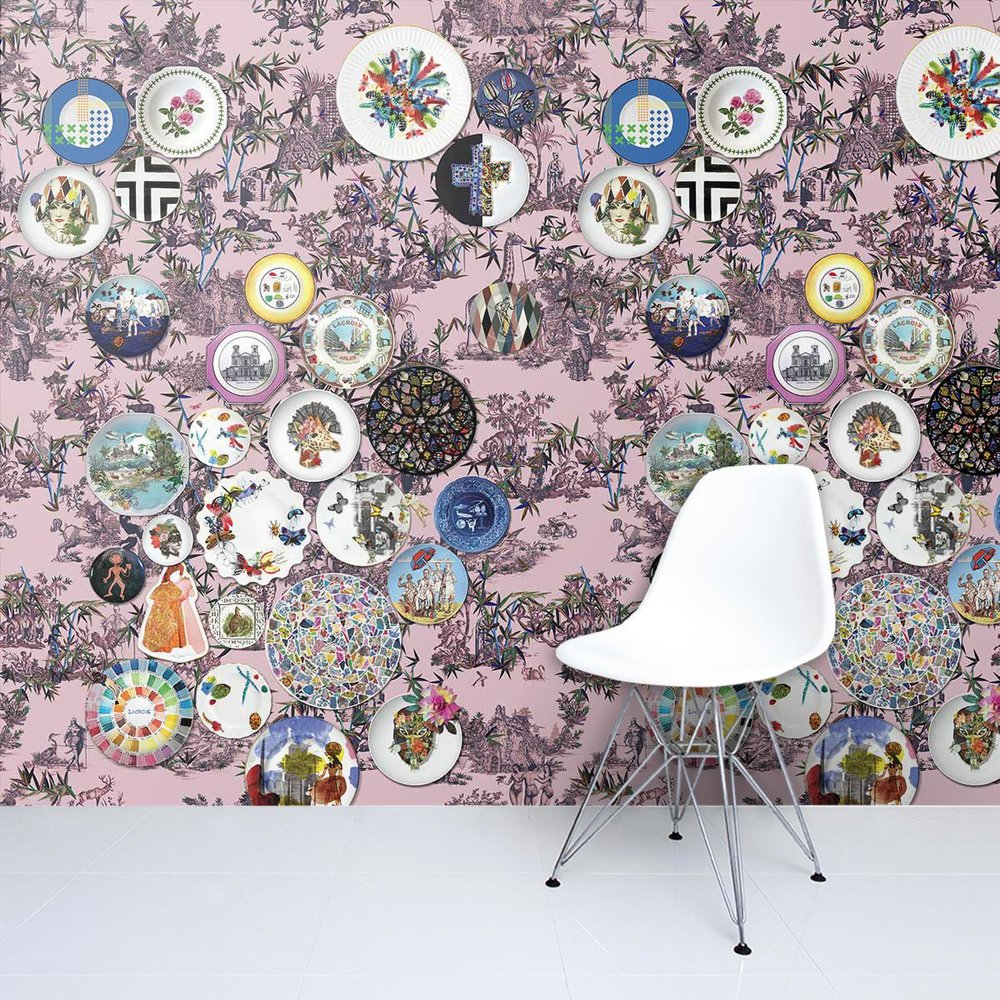 Lacroix Folie Myrtille wallpaper