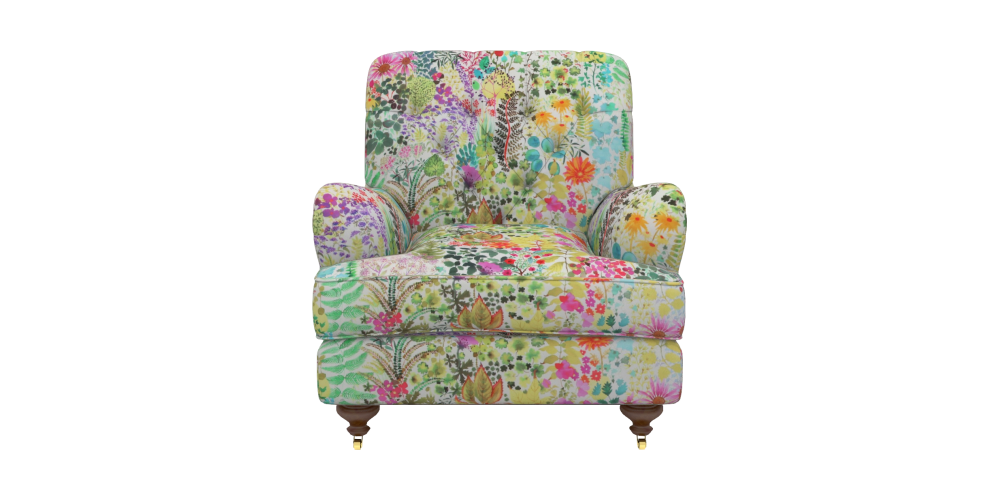 Sofas & Stuff Chiddingfold chair in Liberty Fresco Citrus