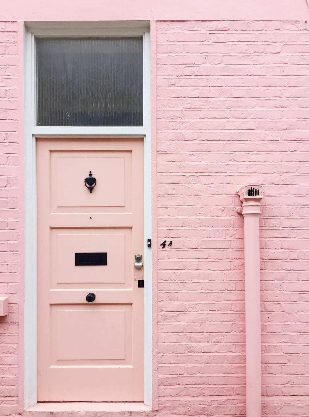 Who lives in a London house like this?/Photo: @londonispink