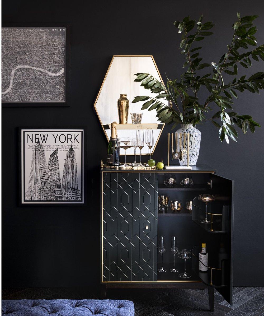 M&S Webster cocktail cabinet #obsessed