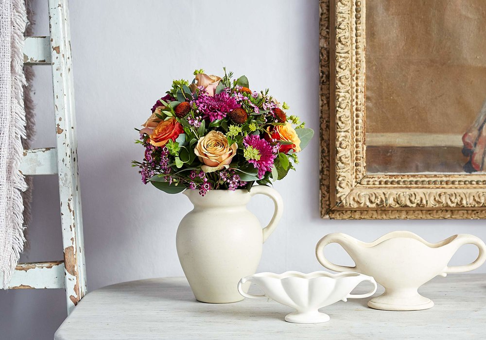 Bloom and Wild Nikki Tibbles  Autumn Mornings  bouquet