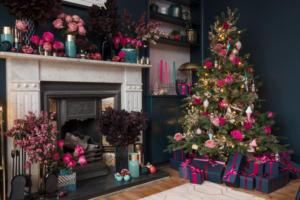 The Pink House Amara Kitschmas styling