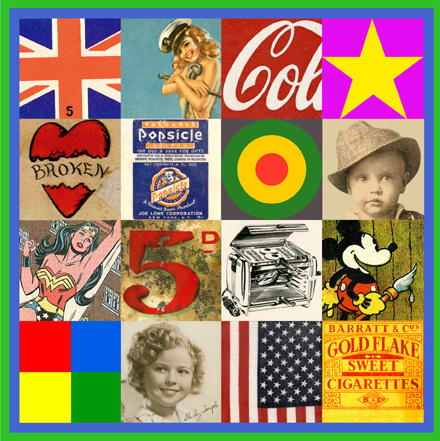 Peter Blake Pop Art IV