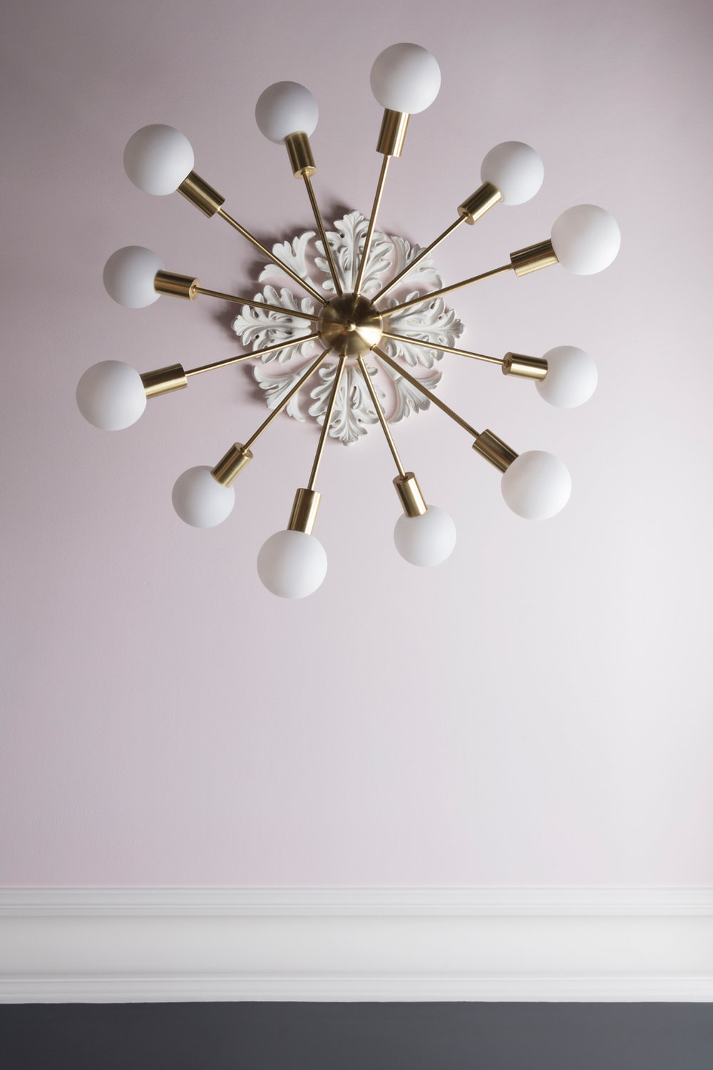 AFTER! Dexter sputnik light from Marks & Spencer/Photo: Susie Lowe