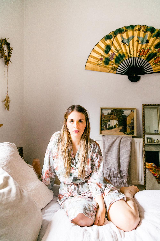 Interior stylist and ethical blogger Antonia McKenzie