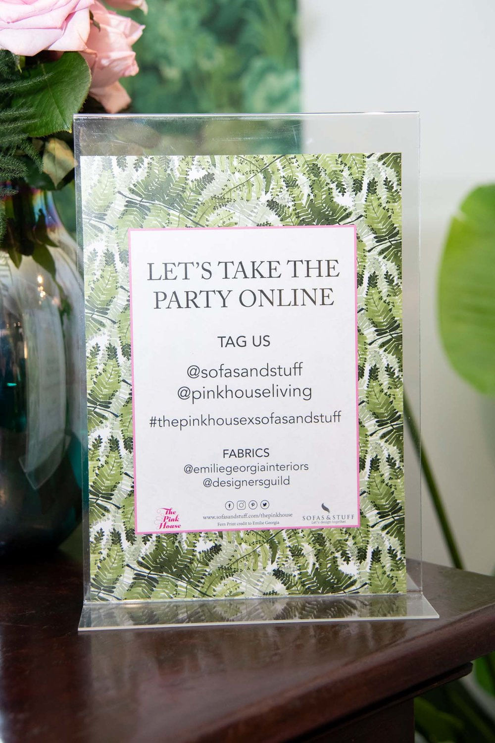 Oh what a night! The Pink House X Sofas & Stuff launch party — The ...