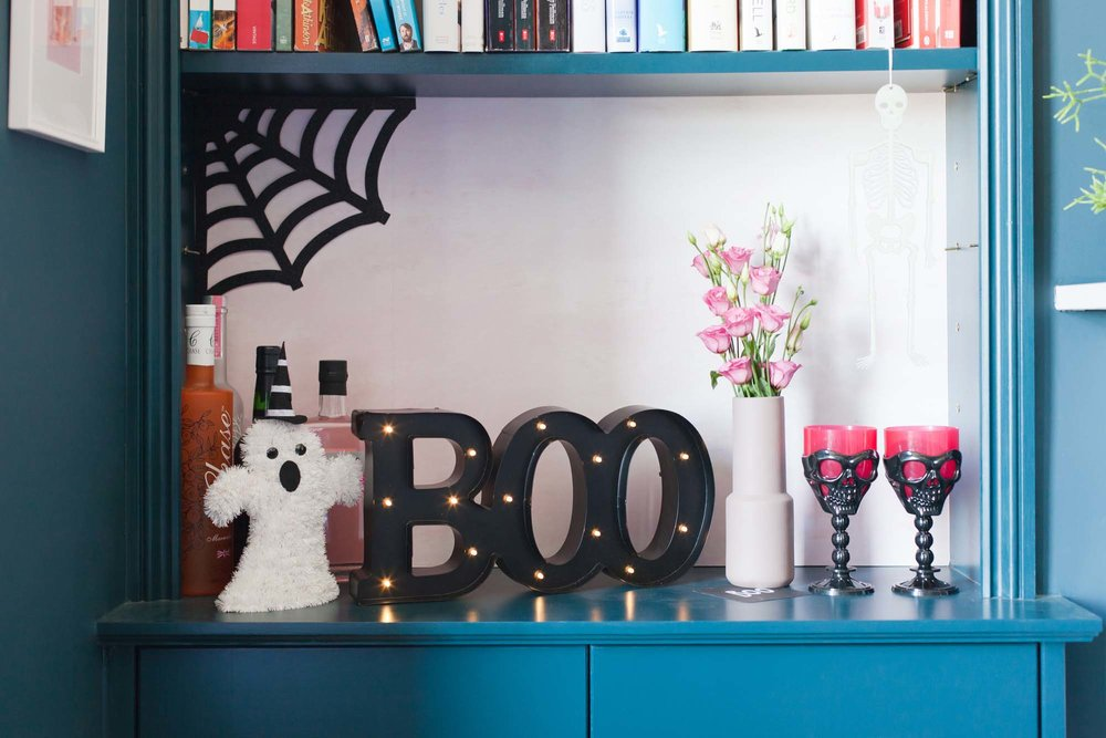 Glamorous Halloween party styling with Sainsbury's Home