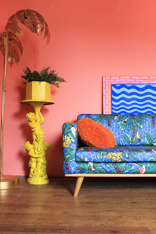 Margate Location House tropical decor