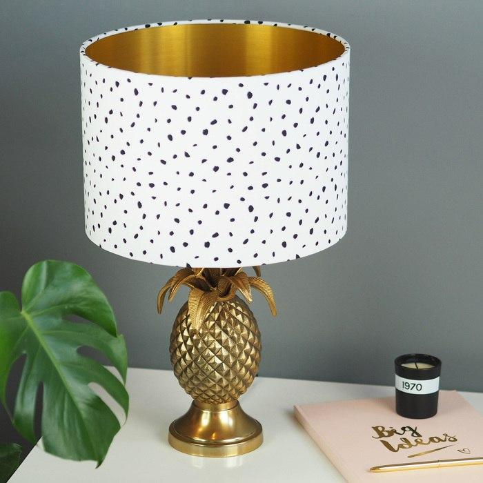 Dalmatian Spot Lampshade  Quirk, £30
