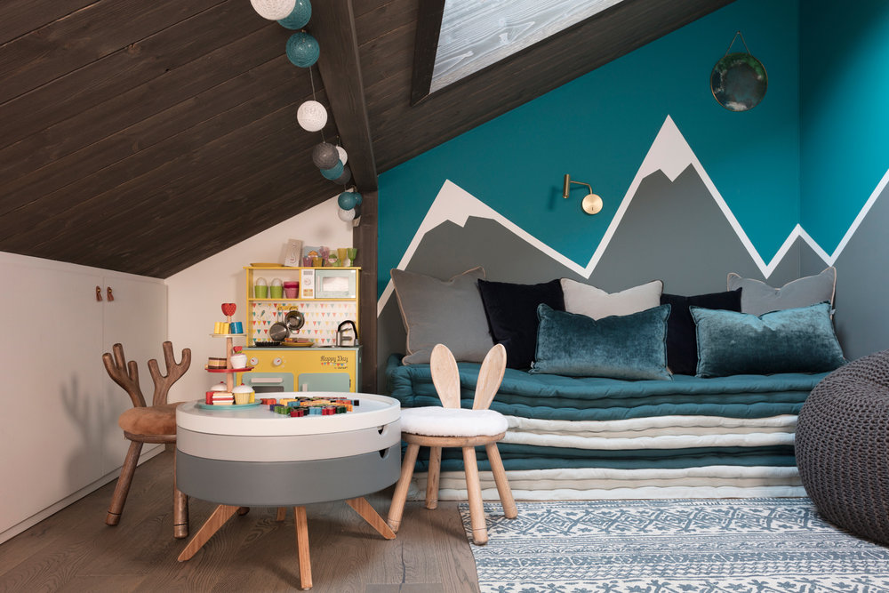 Chalet Mirabelle's playroom