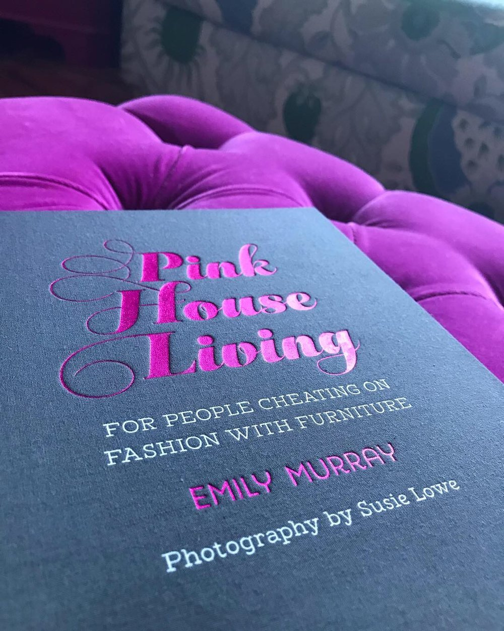 Pink House Living interiors home decor book by Emily Murray