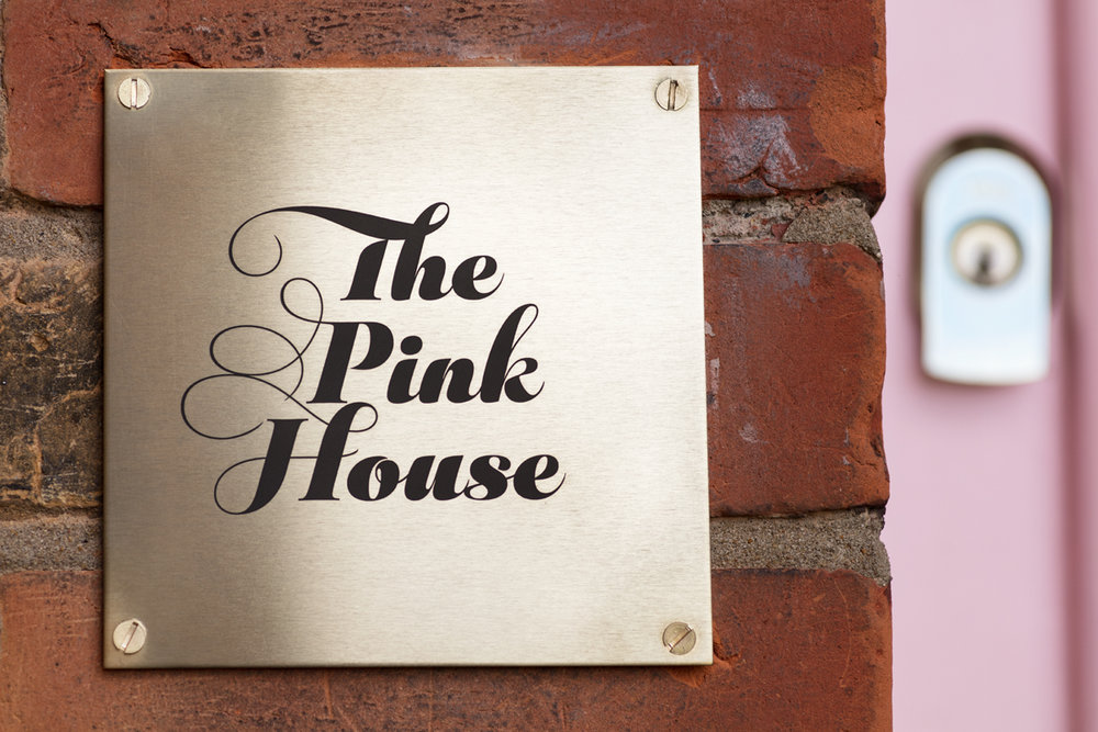 The Pink House front door/Photo: Susie Lowe