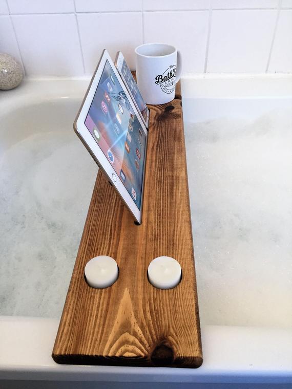 Reclaimed Wood Bath Panel from  The Bath Panel Company