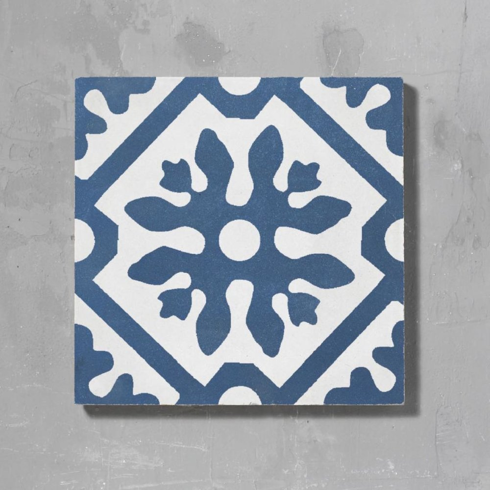The Blue Basco Tile from  Bert & May