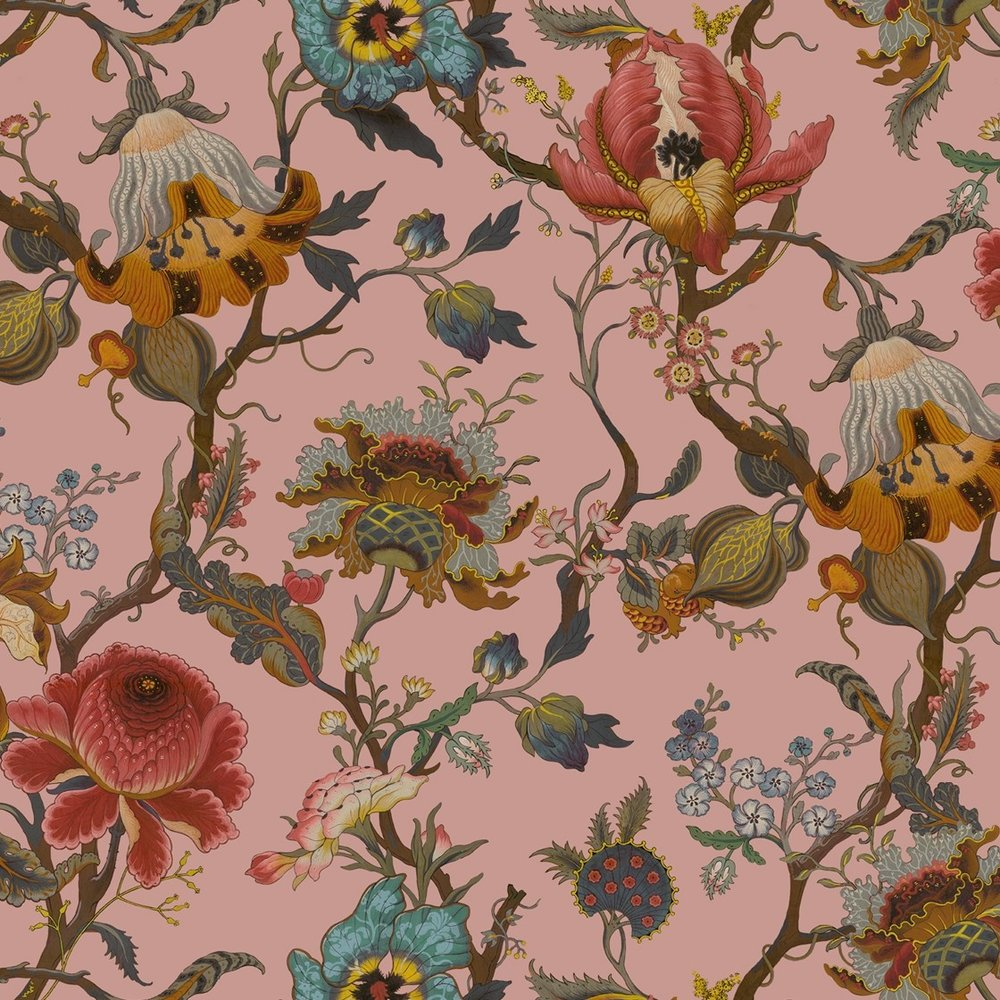 Artemis Blush Wallpaper from  House of Hackney