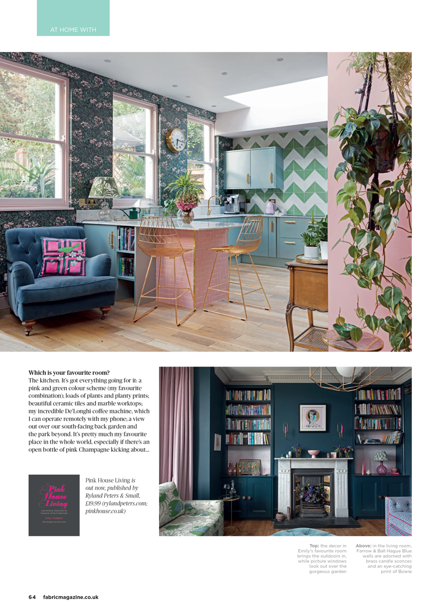 Colourful Edwardian home in South London