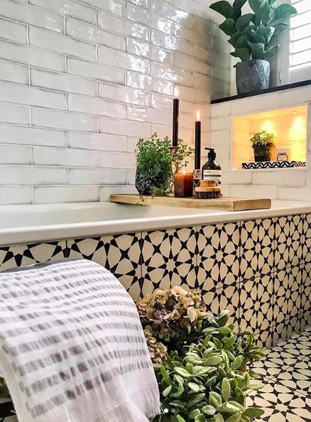 Morocco worthy tiles  @design_at_nineteen