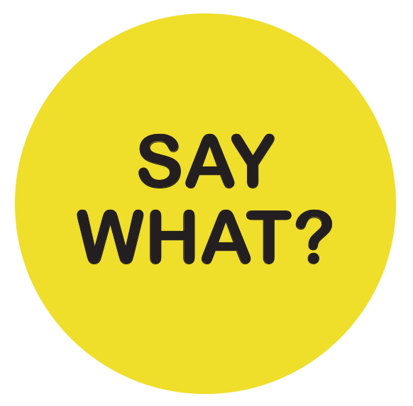 Image result for say what !