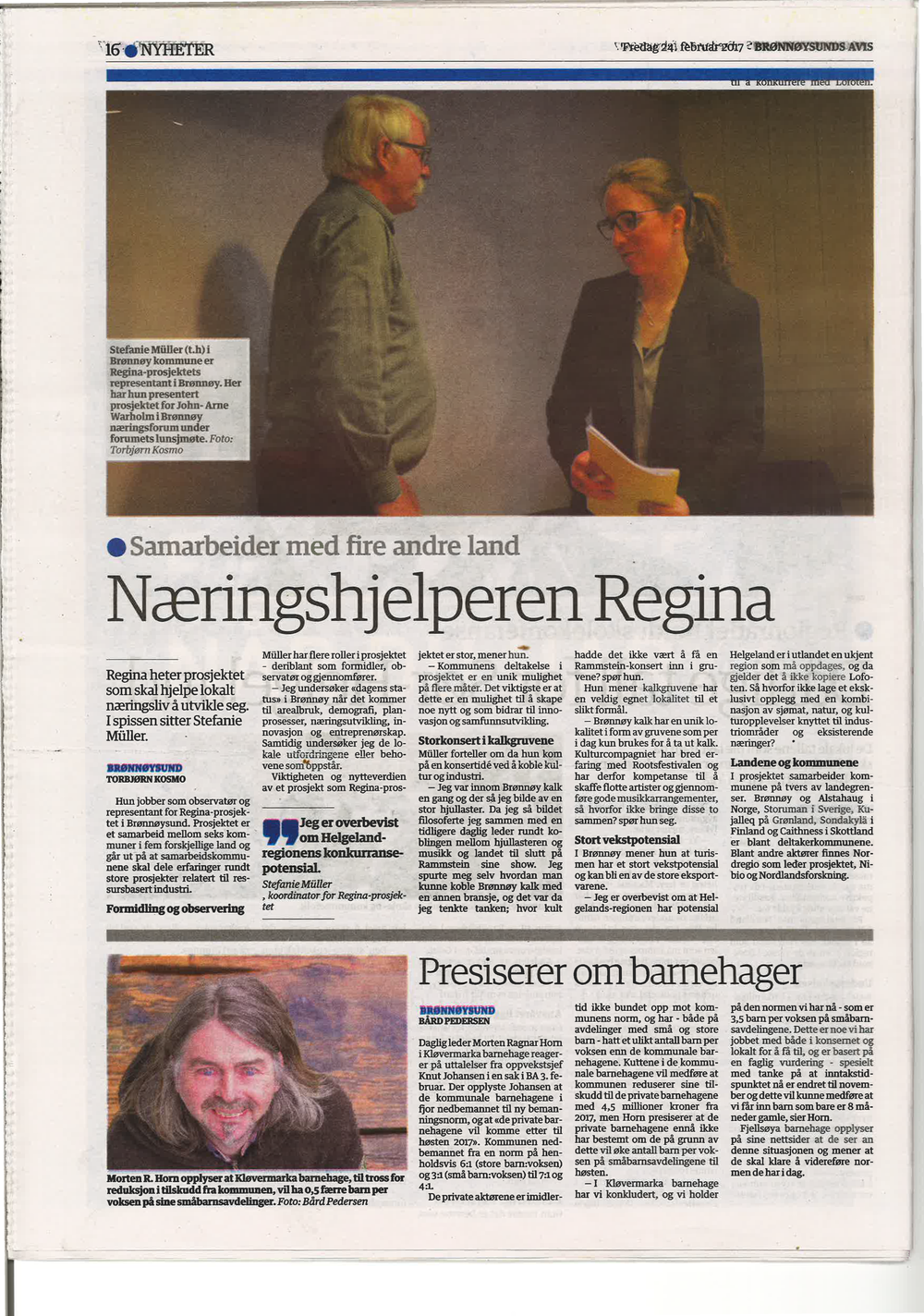Brønnøysunds avis 24 february 2017
