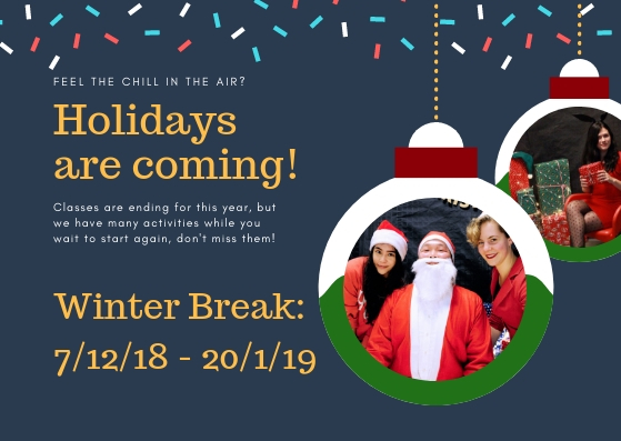 When Does Christmas Break Start.End Of The Winter Break Erasmus Dance Society