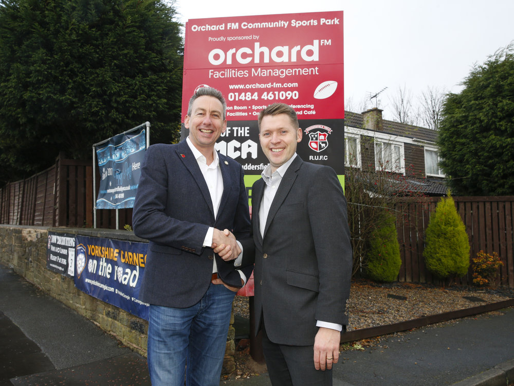James Beattie, YMCA and Gareth Henderson, Orchard FM.jpg