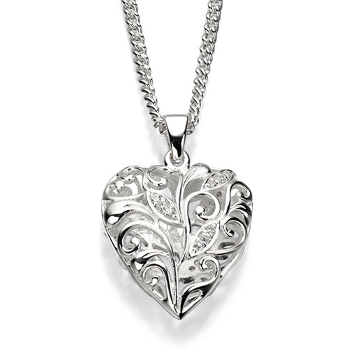 Elements filigree heart pendant marchbank jewellery elements filigree heart pendant aloadofball Image collections