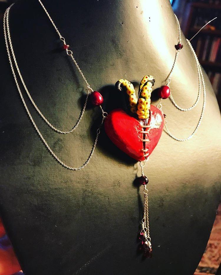 Monster heart Jewellery