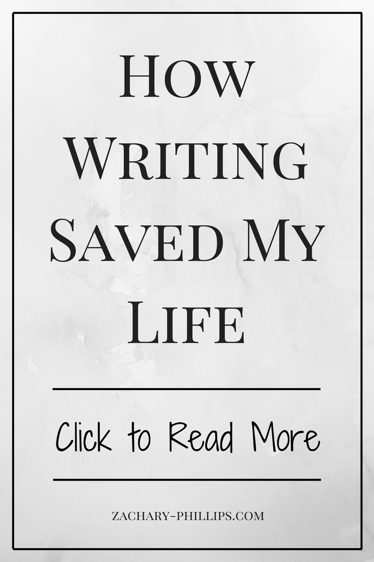 How Writing Saved My Life Pinterest