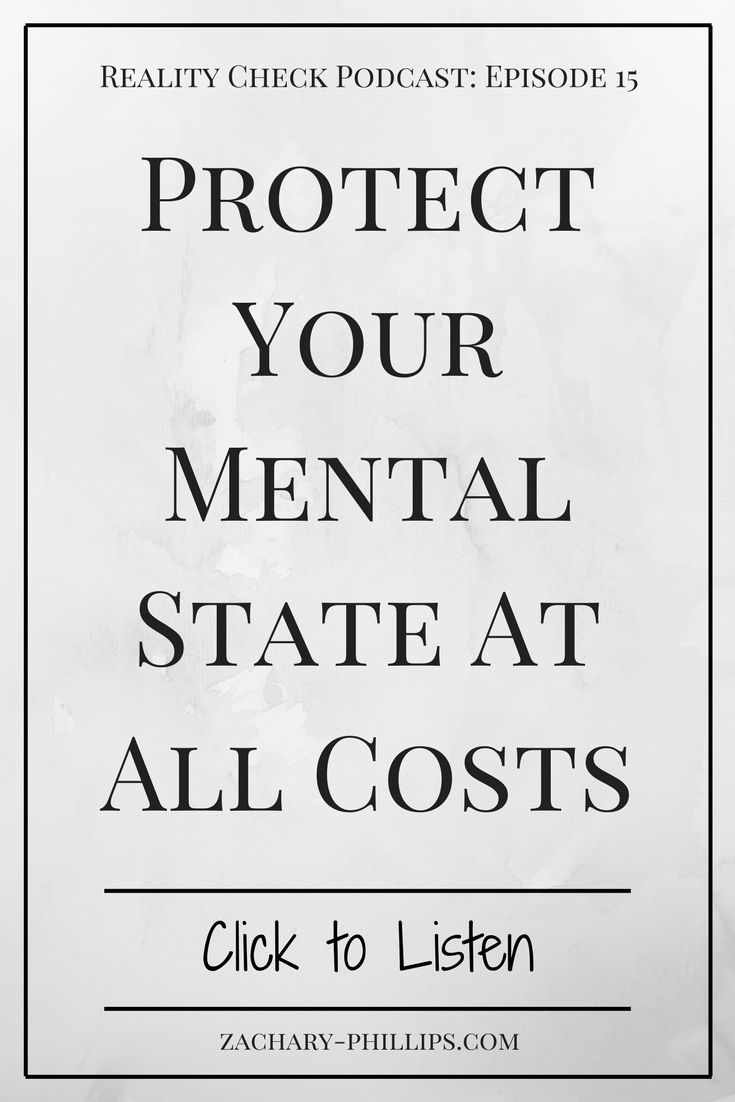Protect Your Mental State At All Costs - Pinterest
