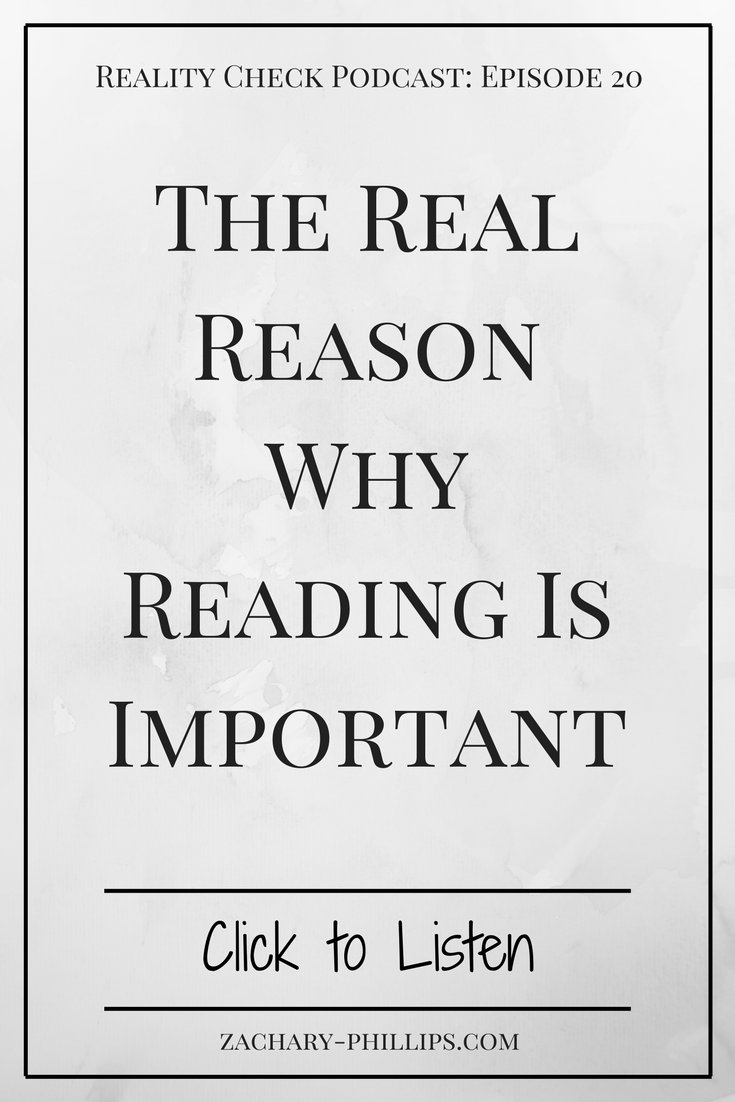The Real Reason Why Reading Is Important - Pinterest