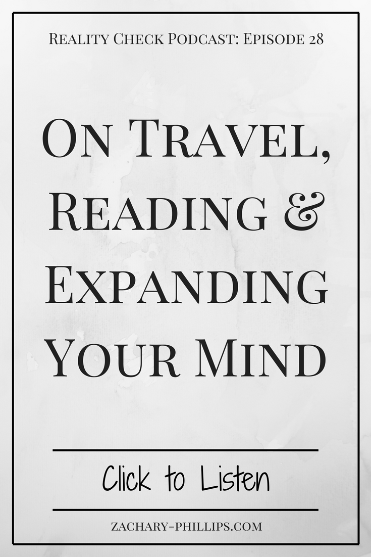 On Travel, Reading and Expanding Your Mind - pinterest