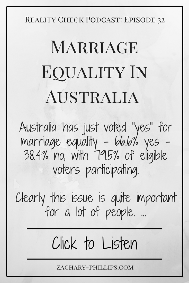 Marriage equality podcast