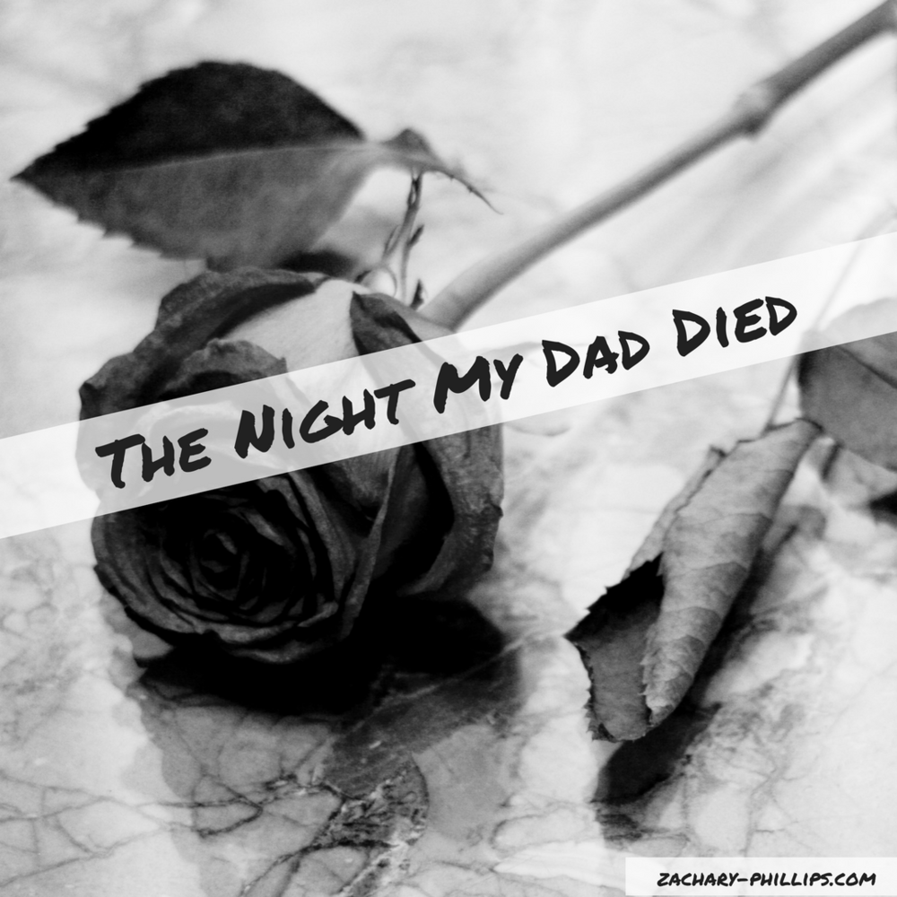 roses black and white the night my dad died blog