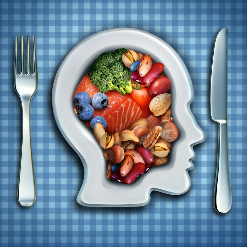 diet for metal health improvement