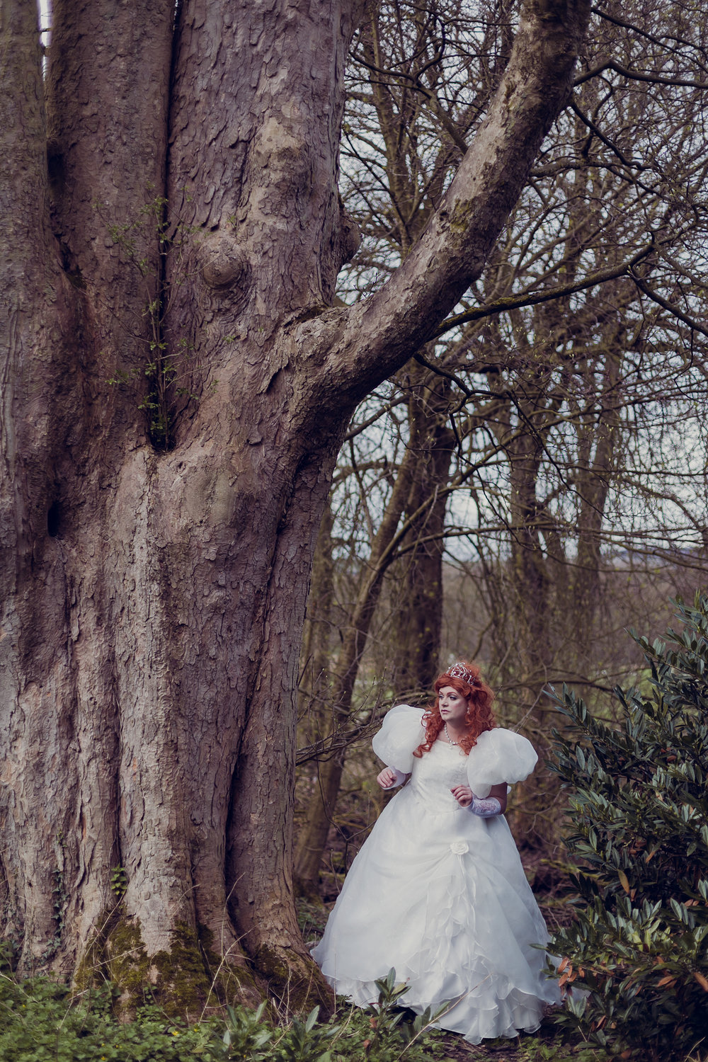 disney princess cosplay cross dressing cross dresser makeover location photography portrait lancashire gawthorpe hall