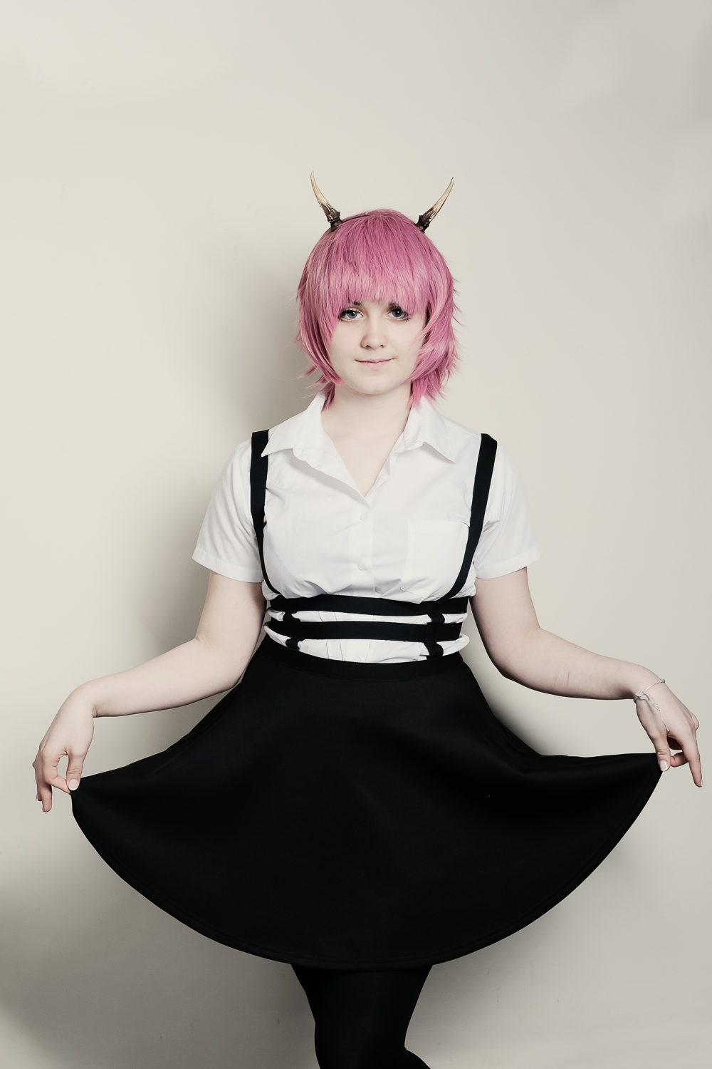 autistic girl anime portrait shoot lancashire yorkshire
