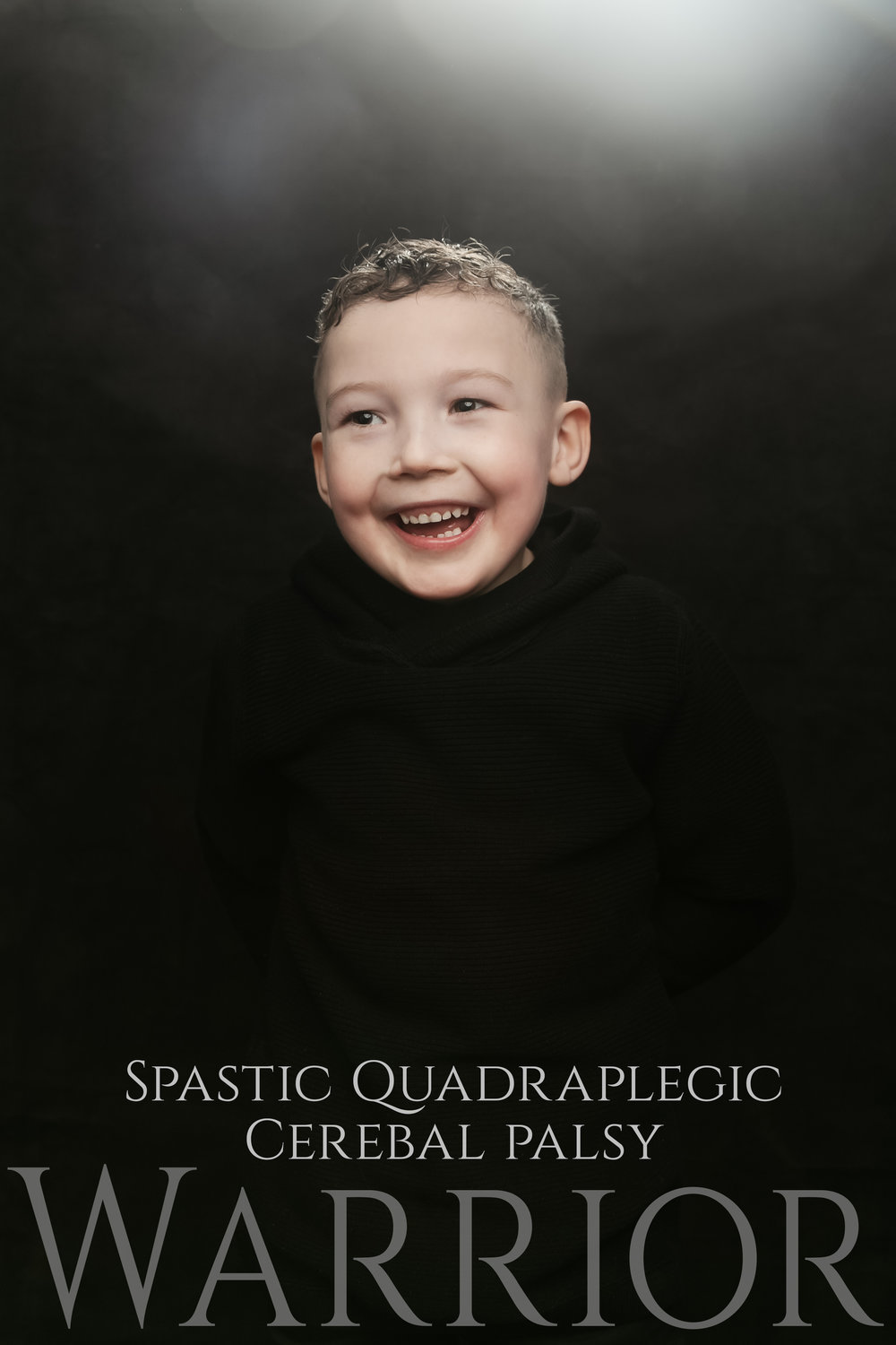 AJ spastic quadraplegic cerebal palsy epilepsy autistic child portrait session clickclickbang photography studio portraits colne burnley lancashire