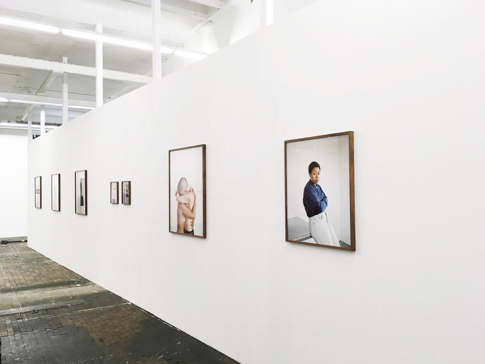 installation view, Centre de la photographie Genève (CPG), collective show NEOGLOBALIDAD, 2017
