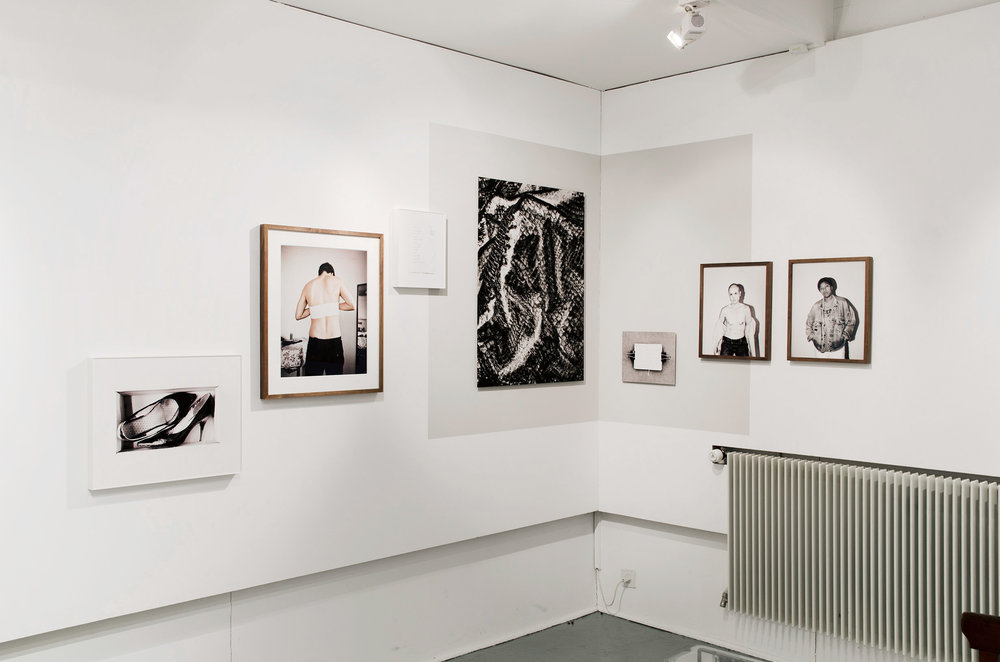 installation view, solo show, Galerie FOCALE, Nyon, 2017.