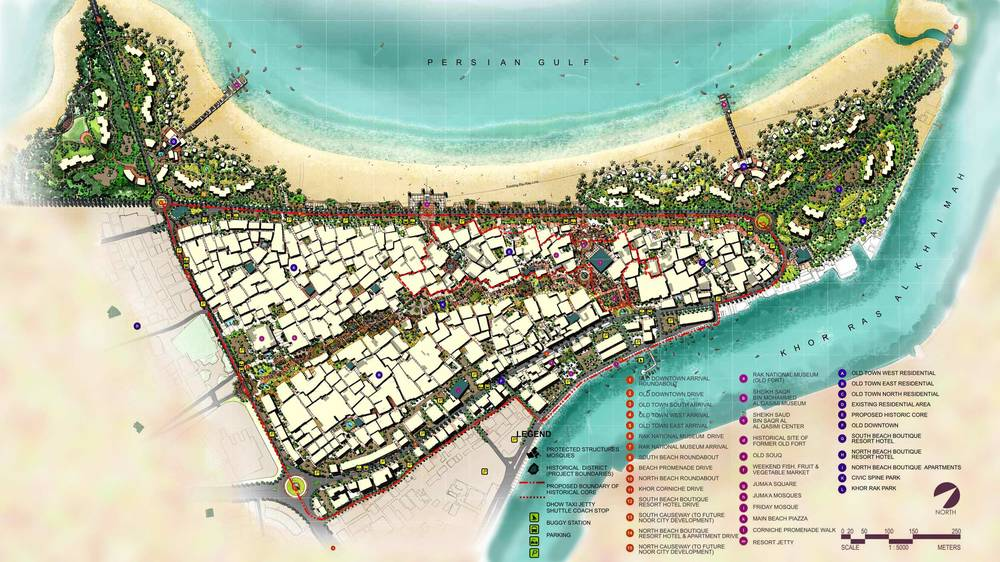 OLD TOWN HISTORIC DISTRICT - Old Town, Ras Al Khaimah, UAE