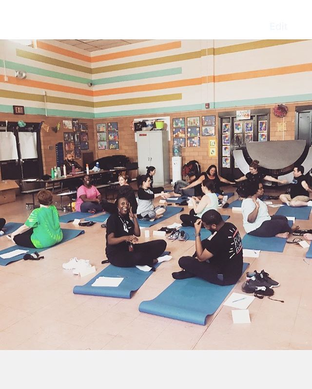 BRIDGE is an official non-profit, retroactively effective September 9, 2016! Recently we've taught Staff Development workshops at several partner schools (pictured), added an additional school for the 2017-2018 school year, and were named 2017 Non-Profit Frontline Heroes by City & State!  If you've made a donation to BRIDGE since 9/6, your gift is tax-deductible. If you haven't -- now is a great time to support wellness in Philadelphia schools and communities! We thank you for your support. (Link in bio.) #philly #BRIDGE #kidsyoga #communitybuilding #nonprofit