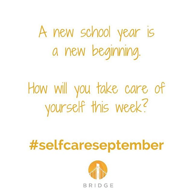 The school year already got us like 💥 so today we're committing to 5 minutes of meditation a day so that we can recharge to take charge. #selfcareseptember this month we're leading lots of self care professional development and sharing tips with you on social media! Visit our website for more info on our programs #BRIDGE #yoga #kidsyoga #yogainschools #philly