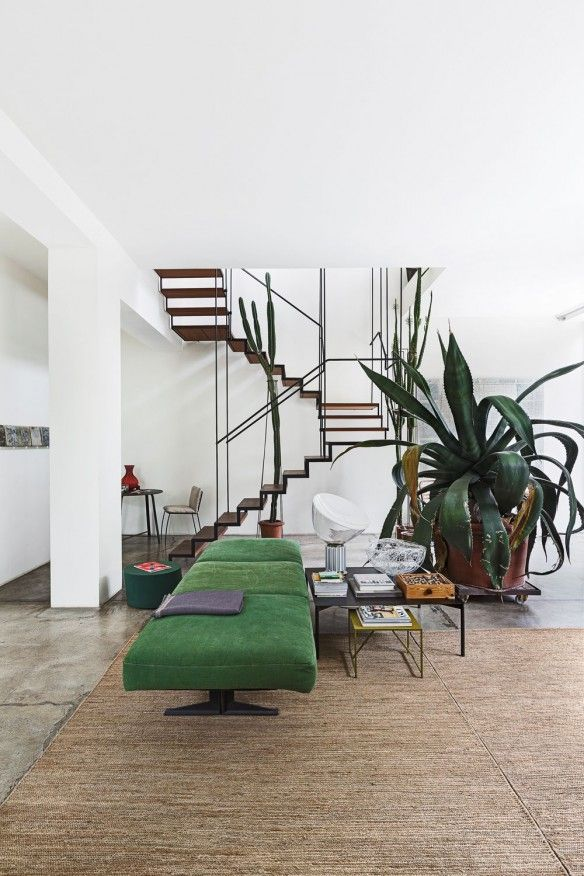 Antonino Sciortino, loft in Milan, photo Serge Anton Living Magazine