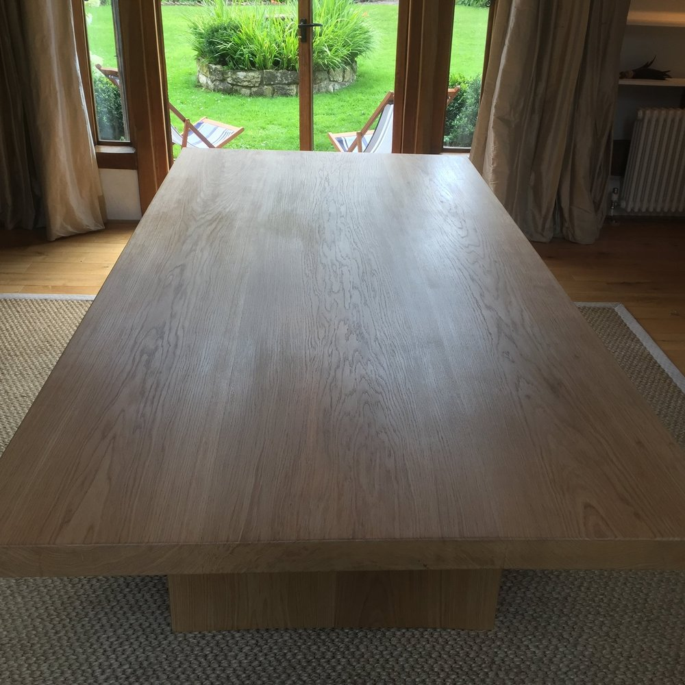OAK TABLE  One-Off Dining Table Made From Oak