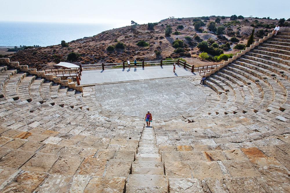 The acropolis of Kourion
