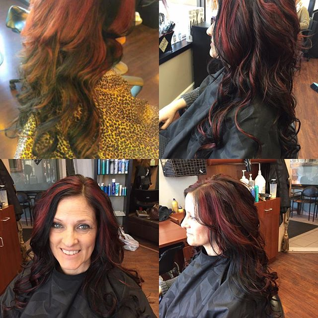 Happy Easter. Most of you will b coloring eggs... I get to practice my passion and color hair!  #sheartrendzsalon #color correction today!! Shear trendz salon.com. Make your appointment today!!🐣🐤